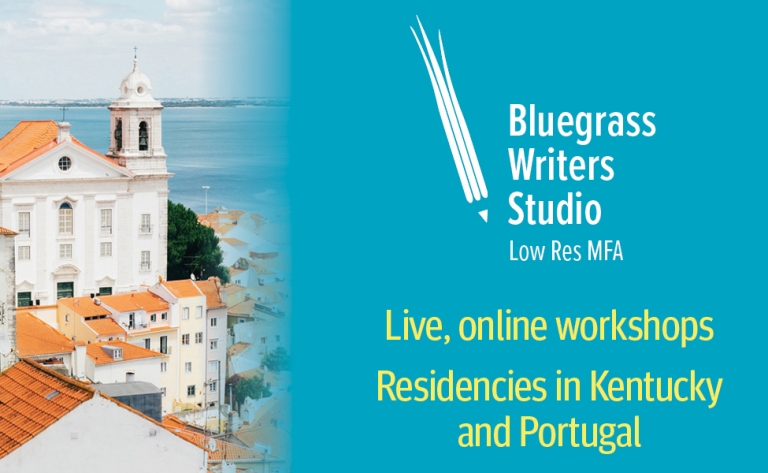 BGWS logo. Live, online workshops. Residencies in Kentucky and Portugal.