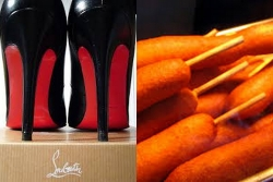 Louboutins and corndogs