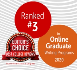 Ranked #3 by Best College Reviews in Top Online Masters Degrees
