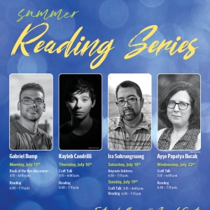 Summer Reading Series Poster