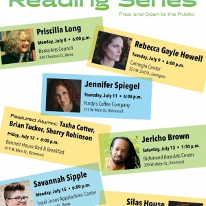 Summer Reading Series Poster, Content in text below